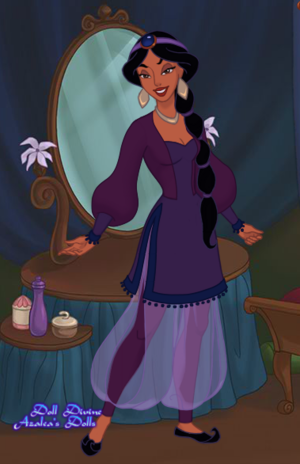 Princess Jasmine: New Outfit 5