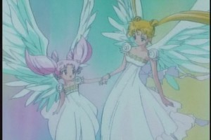 Princesses Serenity and Chibiusa