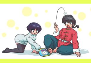 Ranma and Akane(乱あ)
