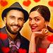 Ranveer and  Deepika  - deepika-padukone icon