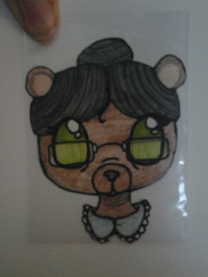 Really old granny bear I did