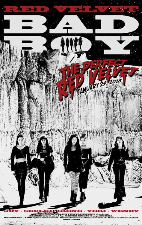 Red Velvet Afbeeldingen Red Velvet 레드벨벳 Bad Boy Teaser
