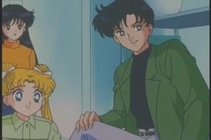 Rei Mamoru and Usagi