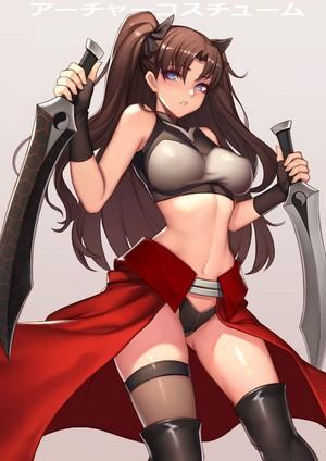 Rin Tohsaka - Archer Emiya Style