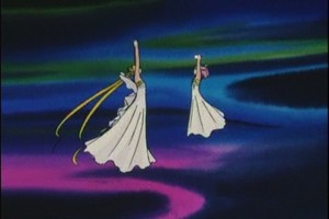 Rin and Neo Queen Serenity