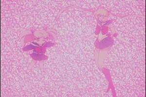 Rini and Sailor Moon