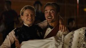 Robert and Mia in Damsel