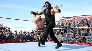 Roman Reigns @ Tribute to the Troops 2017