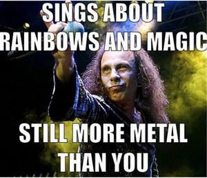 Ronnie James Dio Meme