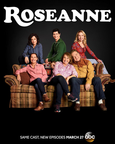 Roseanne achtergrond called Rosanne Revival - Season 10 Poster - The Conners and Jackie