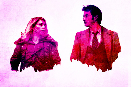 The Doctor and Rose wallpaper called Rose/Doctor