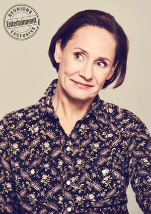 Roseanne Cast's Entertainment Weekly Portraits - Laurie Metcalf as Jackie Harris