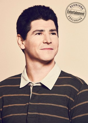 Roseanne Cast's Entertainment Weekly Portraits - Michael Fishman as DJ Conner