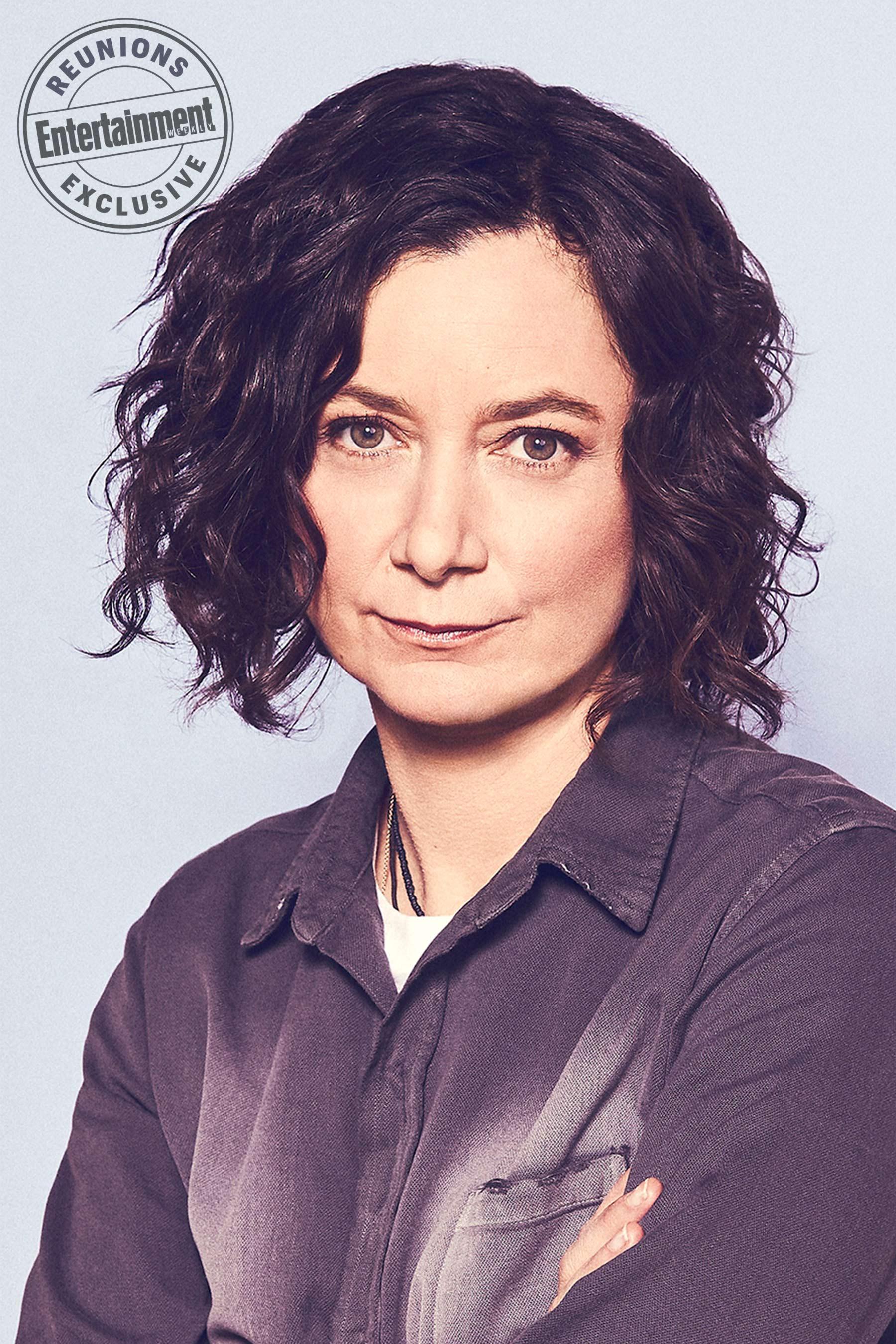 Roseanne Cast's Entertainment Weekly Portraits - Sara Gilbert as Darlene Conner