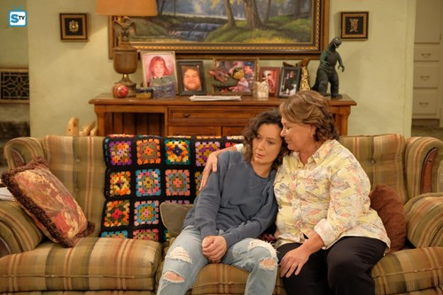 Roseanne achtergrond titled Roseanne Revival - 10x01 - Twenty Years to Life - Darlene and Roseanne