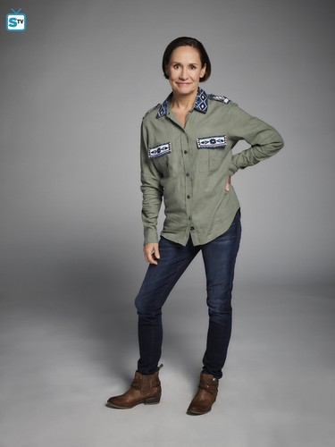 Roseanne achtergrond titled Roseanne Revival Portraits - Laurie Metcalf as Jackie Harris