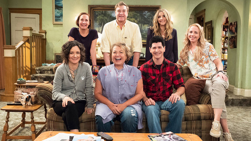 Roseanne achtergrond called Roseanne Revival - Season 10 Cast Portrait
