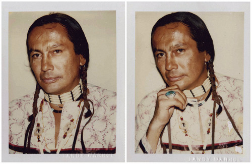 Native Pride Bilder Russell Means Oglala Sioux Photographed Von