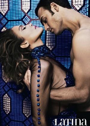 Ryan Guzman and Jennifer Lopez - Latina Photoshoot - 2015