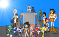 SRMTHFG  Teammate and Friends Forever   - super-robot-monkey-team-hyper-force-go photo