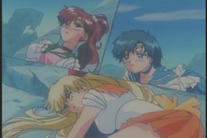 Sailor Jupiter Mercury and Mars