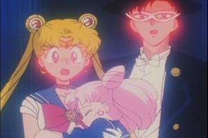 Sailor Moon Rin And Tuxedo Mask