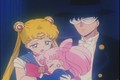 Sailor Moon Rini and Tuxedo Mask  - sailor-moon photo