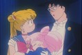 Sailor Moon Tuskdo Mask and Rini  - sailor-moon photo