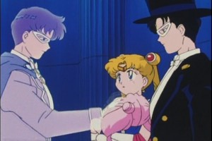 Sailor Moon Tuxedo Mask Rini and King Endymion