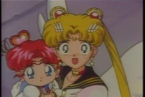 Sailor Moon and Chibiusa