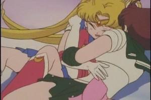 Sailor Moon and Jupiter