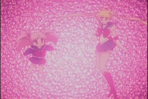 Sailor Moon and Rini