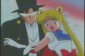 Sailor Moon and Tuxedo Mask  - sailor-moon photo