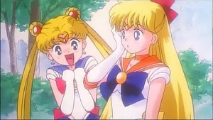 Sailor Moon and Venus