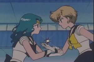 Sailor Neptune and Uranus
