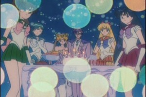 Sailor Scouts King Endymion and New Queen Serenity