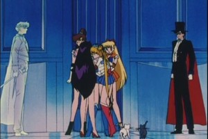 Sailor Scouts King Endymion and Tuxedo Mask