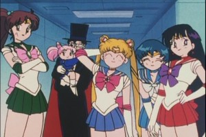 Sailor Scouts Rini and