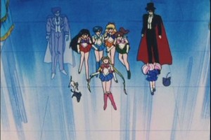 Sailor Scouts Tuxedo Mask and King Endymion