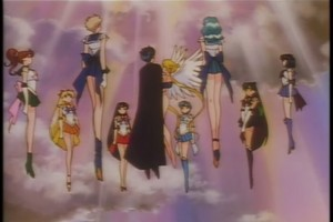 Sailor Scouts and Endymion