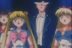 Sailor Scouts and King Endymion