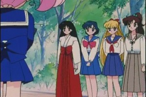 Sailor Scouts and Rini