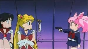 Sailor moon Mars and Chibiusa