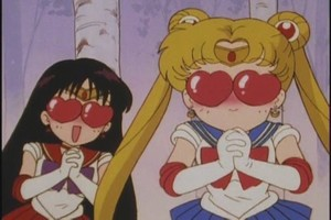 Sailor moon and Mars