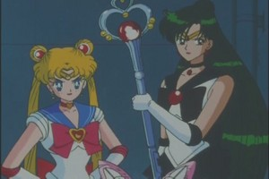 Sailor moon and Pluto
