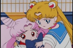 Sailor moon and rin