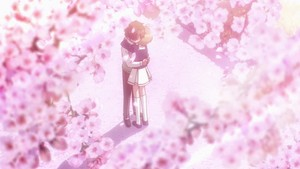 Sakura and Syaoran - Cardcaptor Sakura Clear Card