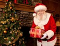 Santa Claus Has A Christmas Present Just For You - christmas photo