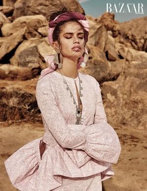 Sara Sampaio for Harper's Bazaar Singapore [February 2018]