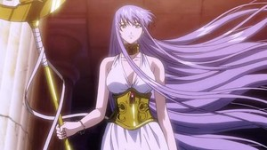 Sasha/Athena(Saint Seiya: The 迷失 Canvas)